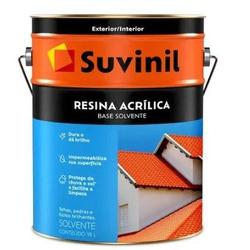 RESINA ACRILICA BASE SOLVENTE 18L 53393616-SUVINIL... - VIA BRASIL CASA & CONSTRUÇÃO