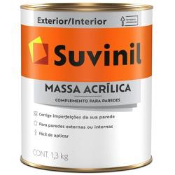 MASSA ACRILICA 1,3KG 900ML 53446404-SUVINIL - 148... - VIA BRASIL CASA & CONSTRUÇÃO