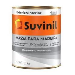 MASSA PARA MADEIRA BASE AGUA 1,3KG 53446828-SUVINI... - VIA BRASIL CASA & CONSTRUÇÃO