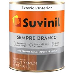 TINTA ESMALTE SINTETICO ACETINADO SEMPRE BRANCO 90... - VIA BRASIL CASA & CONSTRUÇÃO