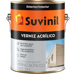 VERNIZ ACRILICO 3,6L 53372522-SUVINIL - 16401 - VIA BRASIL CASA & CONSTRUÇÃO