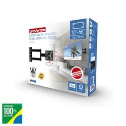 SUPORTE TRI-ARTICULADO PARA TV 10 ATE 55 BRA4.0-BR... - VIA BRASIL CASA & CONSTRUÇÃO