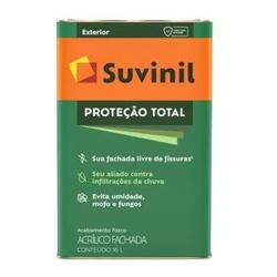 TINTA ACRILICA PROTECAO TOTAL BRANCO FOSCO 18L 503... - VIA BRASIL CASA & CONSTRUÇÃO