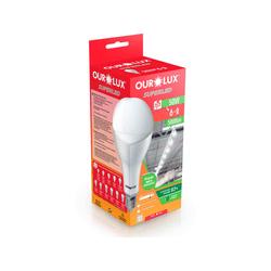 LAMPADA ULTRA LED ALTO FATOR DE POTENCIA 50W E27 6... - VIA BRASIL CASA & CONSTRUÇÃO