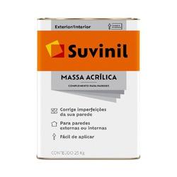 MASSA ACRILICA 25KG 50614497-SUVINIL - 17539 - VIA BRASIL CASA & CONSTRUÇÃO