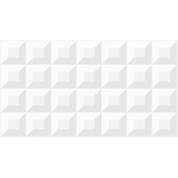 REVESTIMENTO CUBE WHITE SATINY BOLD ACETINADO 33X6... - VIA BRASIL CASA & CONSTRUÇÃO
