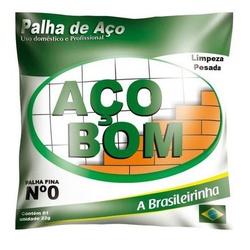 PALHA DE ACO NUMERO 1-ACOBOM - 18288 - VIA BRASIL CASA & CONSTRUÇÃO