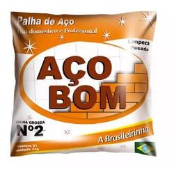 PALHA DE ACO NUMERO 2-ACOBOM - 18289 - VIA BRASIL CASA & CONSTRUÇÃO