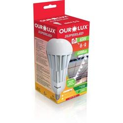 LAMPADA ULTRA LED ALTO FATOR DE POTENCIA 65W E27 6... - VIA BRASIL CASA & CONSTRUÇÃO