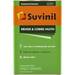 TINTA RENDE E COBRE MUITO GELO 18L 50308445-SUVINI... - VIA BRASIL CASA & CONSTRUÇÃO