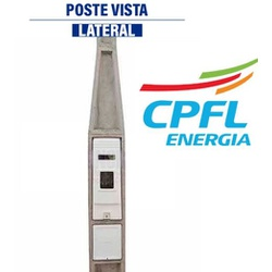 POSTE PADRAO CPFL 01CAIXA CATEGORIA C6 - V0011 - VIA BRASIL CASA & CONSTRUÇÃO