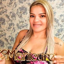 Plaquinha Manicure Espelhada - MI0043 - VICTARE