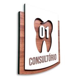 Placa De Sinalização | Consultório Odontológico - ... - VICTARE
