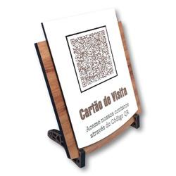 Placa De Sinalização | VCards - QRCode - PE0090 - VICTARE