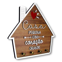Porta Chaves   Casinha - PD0004 - VICTARE