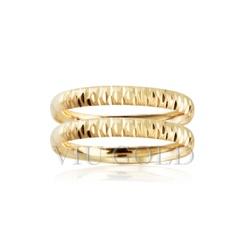 Aparador trabalhado em ouro 18k amarelo - AP-038 - VIU GOLD