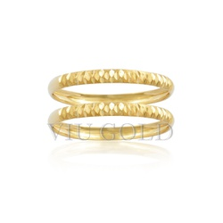 Aparador trabalhado em ouro 18k amarelo - AP-036 - VIU GOLD