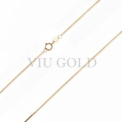 Corrente Veneziana de 40cm em ouro 18k amarelo - CR-002 - VIU GOLD