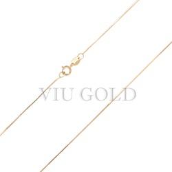 Corrente Veneziana de 40cm em ouro 18k amarelo - CR-001 - VIU GOLD