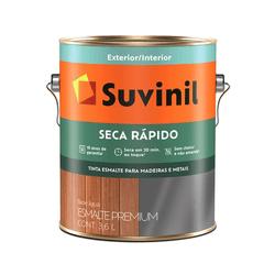 Esmalte Seca Rápido Acetinado Branco 3,6L -Suvinil - VIVA COR TINTAS