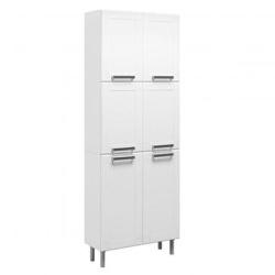 Paneleiro Para Cozinha 6 Portas Multipla Branco - ... - COLOR MÓVEIS - Sempre pensando em você!