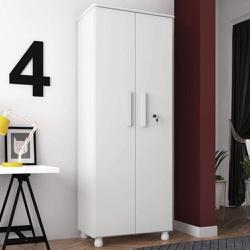 Multiuso Torino 2 portas Branco - Móveis Lanza - ... - COLOR MÓVEIS - Sempre pensando em você!