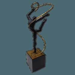 Estatueta ginastica rítmica - E5052 - ALAMIN IMPORTAÇÃO EXPORAÇÃO LTDA