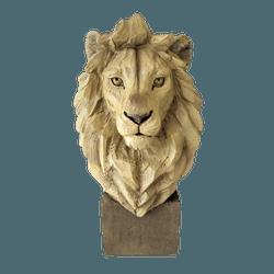 Estatueta Leão - HC2154 - ALAMIN IMPORTAÇÃO EXPORAÇÃO LTDA