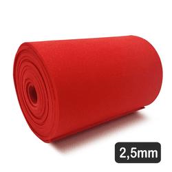 2,5 Mm Eva Red para Confecção De Elementos (180 x 12 Cm)