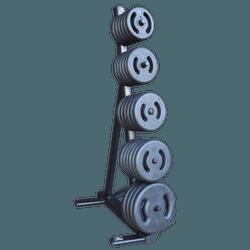 Suporte Para Anilhas – Torre Arpa – 1 a 5 Kg - 131... - ANILHASDEFERRO