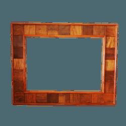 Moldura de espelho quadriculada - MD02 - ARTEMINEIRAMOVEISRUSTICOS