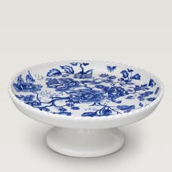 Boleira Azul Floral - Astuti Casa