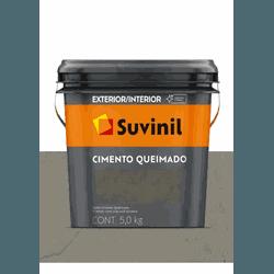 CIMENTO QUEIMADO AVENIDA EXPRESSA SUVINIL 5KG - Baratão das Tintas