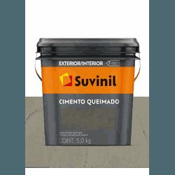 CIMENTO QUEIMADO DIA DE CHUVA SUVINIL 5KG - Baratão das Tintas