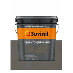 CIMENTO QUEIMADO TÚNEL DE CONCRETO SUVINIL 5KG - Baratão das Tintas