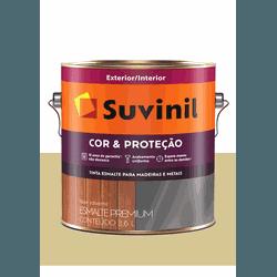 SUVINIL ESMALTE COR E PROTEÇÃO BRILHANTE AREIA 3,6... - Baratão das Tintas