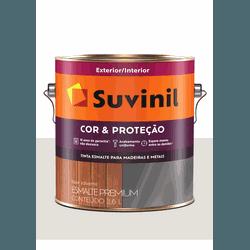 SUVINIL ESMALTE COR E PROTEÇÃO ACETINADO GELO 3,6L... - Baratão das Tintas