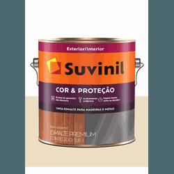 SUVINIL ESMALTE COR E PROTEÇÃO BRILHANTE MARFIM 3,... - Baratão das Tintas