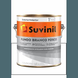 SUVINIL FUNDO BRANCO FOSCO 3,6L - Baratão das Tintas