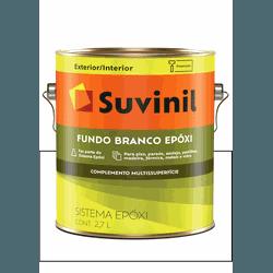 SUVINIL FUNDO BRANCO EPÓXI 2,7L - Baratão das Tintas