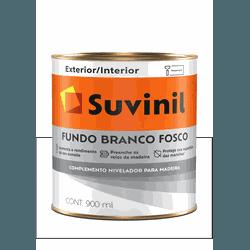 SUVINIL FUNDO BRANCO FOSCO 900ML - Baratão das Tintas