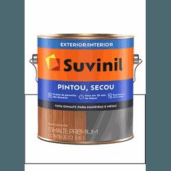 SUVINIL ESMALTE PINTOU SECOU BRANCO 3,6L - Baratão das Tintas