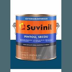 SUVINIL ESMALTE PINTOU SECOU PETRÓLEO 3,6L - Baratão das Tintas