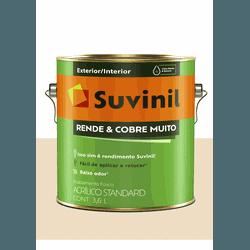 SUVINIL RENDE E COBRE MUITO MARFIM 3,6L - Baratão das Tintas