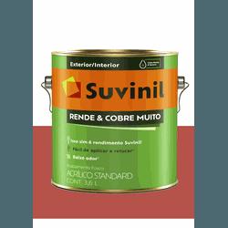 SUVINIL RENDE E COBRE MUITO VERMELHO CARDINHAL 3,6 - Baratão das Tintas