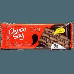 Chocolate Choco Soy Diet 80g Sem Lactose Sem Glúte... - BCL ALIMENTOS