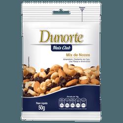 Mix De Nozes Dunorte 50g - 162004 - BCL ALIMENTOS