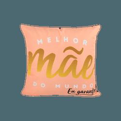 Almofada - Melhor Mãe do Mundo - 13151 - Bellas Cestas Online Salvador