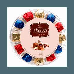 Bombons Golden Gift Sortidos Cacau Show - 1013 - Bellas Cestas Online Salvador