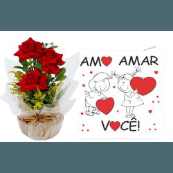 Kit Especial Coisas Do Amor - 789258 - Bellas Cestas Online Salvador